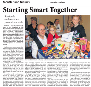Starting Smart Together Montferlandnieuws 3 april 2012