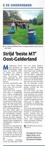 AMT Challenge Gelderlander 21-2-2015